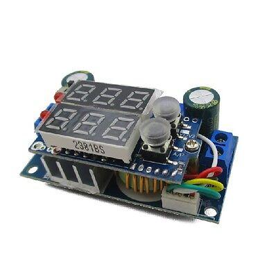 Mppt Solar Panel Controller 5a Dc-dc Step-down Cccv Charging Module Led Display