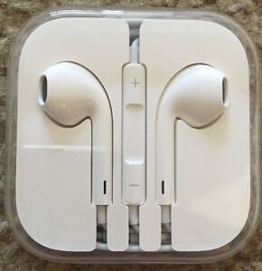 Brand New Genuine Apple Earbuds Headphone iphone 6/6S/6+/7/7+