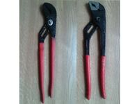 Water Pump Pliers x 2 10inch + 12inch