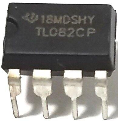 2pcs Texas Instruments Tl082cp Tl082 Sockets - Dual Jfet-input Op Amp New
