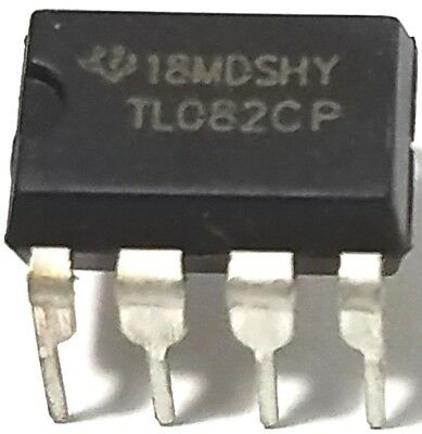 NEW OLD STOCK 2 X AMPLIFIERS-MC1458P-TEXAS INSTRUMENTS