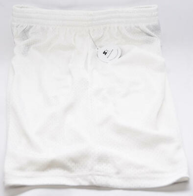 Starter Men's Athletic Mesh Short Side Pockets in White - Me