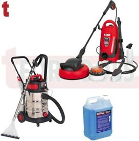 SEALEY VMA915 WET/DRY 30 LITRE VACUUM + PW1600 110BAR PRESSURE WASHER + 5 LITRE DETERGENT