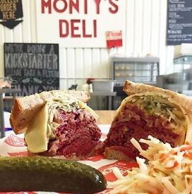 CHEFS WANTED FOR MONTY'S DELI - Hoxton Street- All levels required