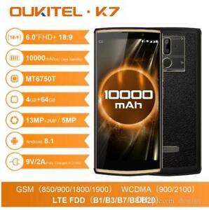Oukitel K7 Android 8.1 6.0 Inch 18:9 Display 10000mAh