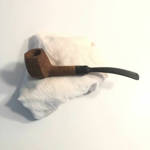 # 101 Unfinished Small Hexagonal Briar Pipe