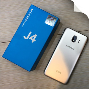NEW SAMSUNG GALAXY J4 (2018) 32 GB + 32 GB MICRO-SD CARD