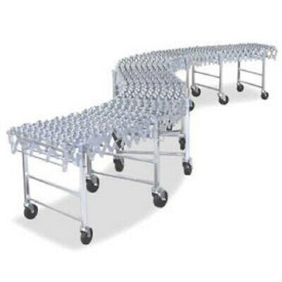 New Expandable Flexible Conveyor - Poly Skate Wheels - 376 Lb.ft.