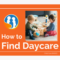 I will help FIND DAYCARE quickly!