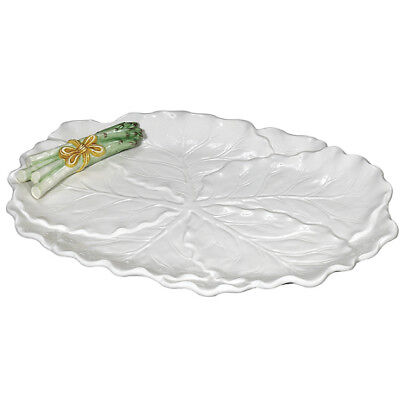 """ASPARAGUS CABBAGE LEAF PLATTER 61256 J Willfred / Andrea by Sadek 16"""" New in Box, used for sale  Warrenton"""