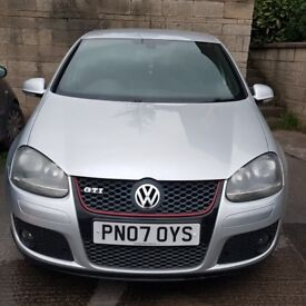 Volkswagen Golf TFSI GTI Silver 5 door manual