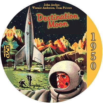 Destination Moon (1950) Classic Sci-Fi and Horror NR CULT