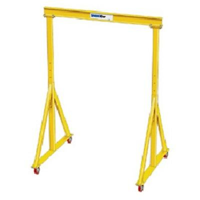 New 3 Ton-spanco-portable Steel Gantry Crane-11-6 Span-adj Hgt 6-2-9-10