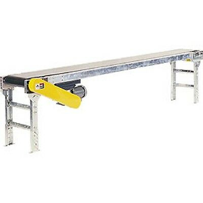 New Powered 24w X 20l Belt Conveyor Without Side Rails