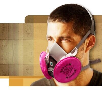 Gas Mask 62002091 Gas Mask Suit Respirator Painting Spraying Face Size M