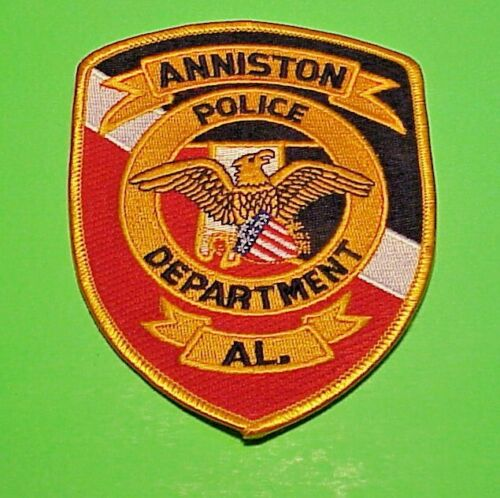 "ANNISTON  ALABAMA  AL  5""  POLICE PATCH  FREE SHIPPING!!!"