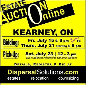 Kearney Estate Auction Sale | July 15 -21