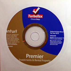 TurboTax Premier 2010, Federal + State, New, No Box