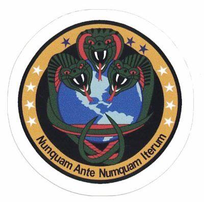 Nro Classified Mission Sticker  Nunquam Ante Numquam Iterum Black Project