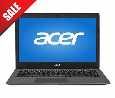 Acer Aspire One Laptop AO1-431-C8G8 14'' Cloudbook 2GB DDR3L 32GB SSD Win 10