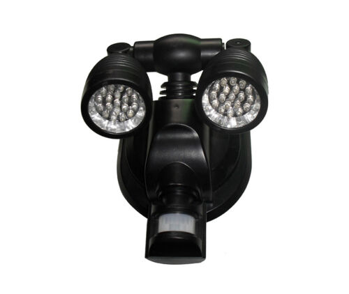 38 LED SOLAR POWER RECHARGEABLE SECURITY LIGHT GARDEN SHED