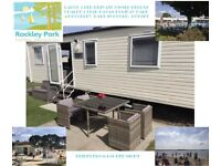 Large Deluxe 3 Bed Caravan Rental At Rockley Park *half Term Dates Available