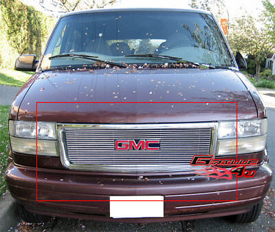 Fits 1995-2005 GMC Safari Van Main Upper Billet Grille Insert