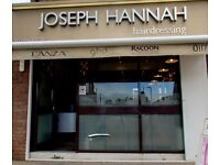 Joseph Hannah Hairdressing are looking for full and part time stylists.