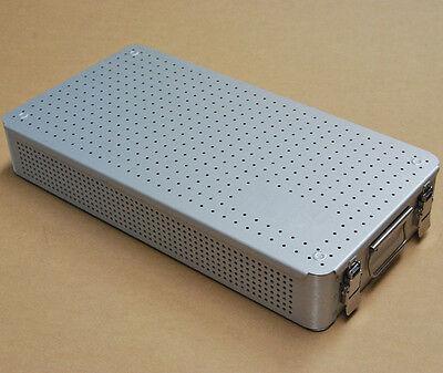 Aluminium Alloy Sterilization Tray Case 55cm For Surgical Instrument Tool