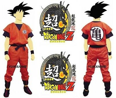 (Ship by EMS) Halloween__Full Set Dragon Ball Z Goku Cosplay Costume JP](Halloween Goku Costume)