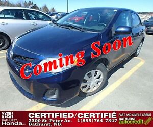 2011 Toyota Corolla CE GREAT VALUE!! Certified!