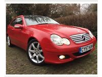 Sexy red Mercedes for sale