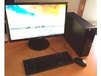 "Acer Tower PC Bundle - Quad Core - 8GB RAM - DVD-RW - HDMI - Wi-Fi - Bluetooth - 20"" Widescreen"