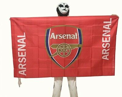 Arsenal FC Club Flag Banner 3x5 ft Polyester Soccer Club Football Fans Gift