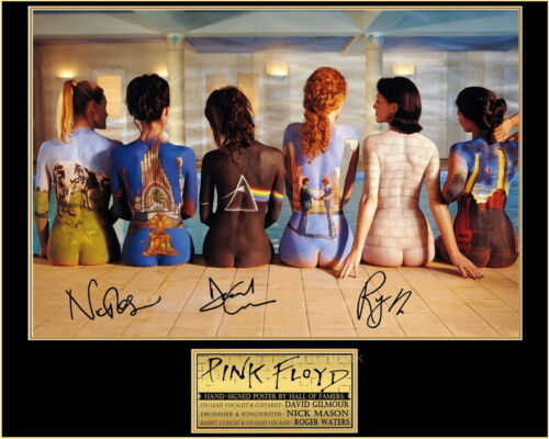 Pink Floyd Six Albums Painted Backs 8 x 10 Inch Color Picture Signed Print New