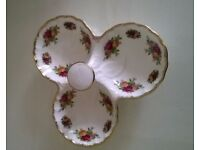 Royal Albert Old Country Roses Condiment Server