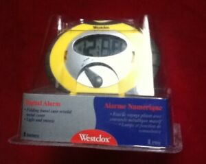 Westclox Digital Alarm Clock In original unopened box