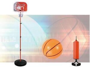 Adjustable Basketball Stand & Hoop Set (179CM X 37.5CM) - Ship accross Canada