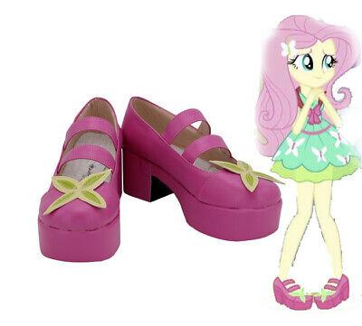 My Little Pony Equestria Girls Fluttershy Cosplay Costume Kostüm Schuhe Shoes