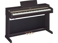 Yamaha YDP-162 Arius Digital Piano and stool