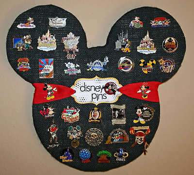 How to choose a disney pin lot ebay for Cork board pin display