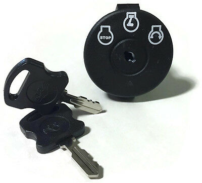 Mowers Ignition Switch replaces part # 925-04659 includes 2 keys