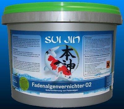 Fadenalgenvernichter O2 -  10 kg  Peroxyd 5,69 €/kg