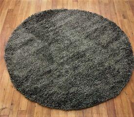 Round shaggy rugs brand new