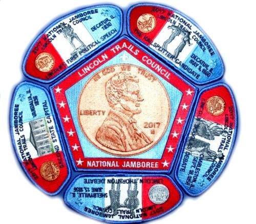 Lincoln Trails Council 2017 NJ Set - Blue Bdr - Lincoln Penny