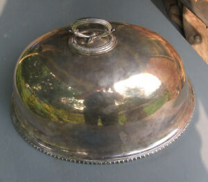 Fine English Silver Dome Food Cover