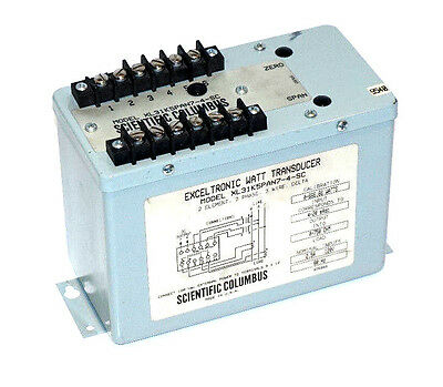 Used Scientific Columbus Xl31k5pan7-4-sc Exceltronic Transducer Xl31k5pan74sc