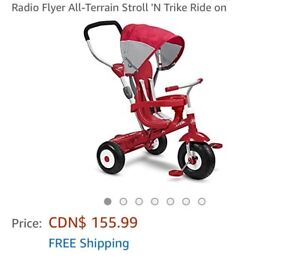 Radio flyer trike great condition