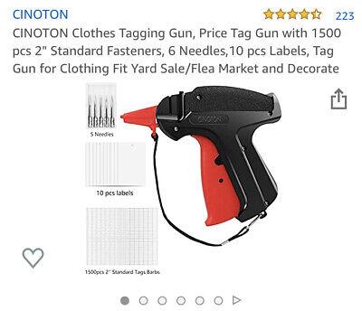 Cinoton Clothes Tagging Gun Price Tag Gun