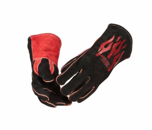 Genuine Lincoln Electric K2979-ALL Welding Traditional Gloves Mig Stick Leather
